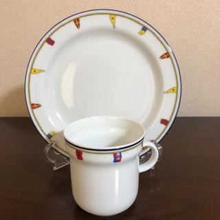 リチャードジノリ(Richard Ginori)のリチャードジノリ クリッパー  マグカップ&プレート*新品未使用(食器)