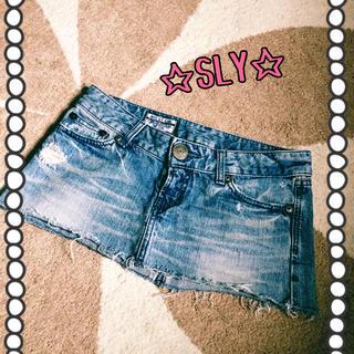スライ(SLY)の★★SLY デニムミニスカート☆☆(ミニスカート)