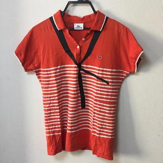 ラコステ(LACOSTE)のLACOSTE ラコステ プリント柄 ポロシャツ(ポロシャツ)