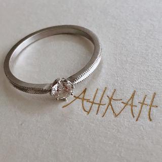 アーカー(AHKAH)のAhkah ソルティアラウンドリング(リング(指輪))