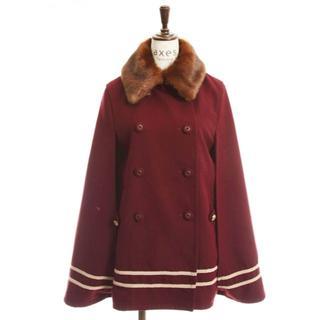 アクシーズファム(axes femme)のpleat skirt+Double coat Set. (ダッフルコート)