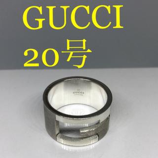 Gucci - [希少サイズ美品]GUCCI 指輪 リング 20号