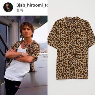 エイチアンドエム(H&M)のh&m レオパード 三代目 登坂広臣(シャツ)