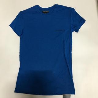 Emporio Armani - 未使用品 アルマーニ メンズTシャツ サイズM ブルー