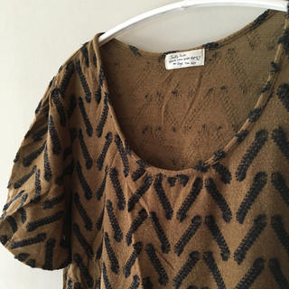 ミナペルホネン(mina perhonen)のサリースコット sally scott サマーニット Tシャツ(Tシャツ(半袖/袖なし))