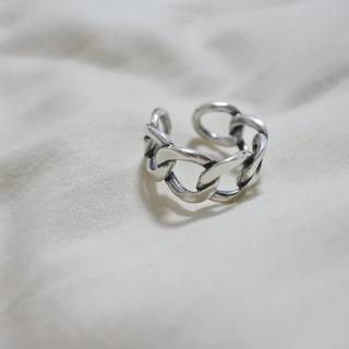 チェーンリング シルバーリング シルバー925(リング(指輪))
