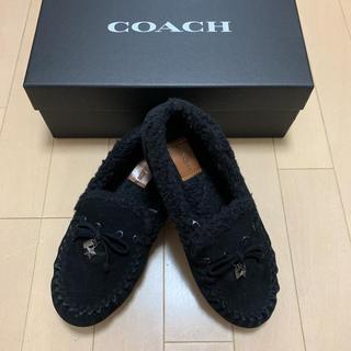 コーチ(COACH)のCOACH  コーチ モカシン スタッズ(ローファー/革靴)