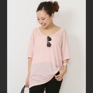DEUXIEME CLASSE - Deuxieme Classe NSF U Tシャツ/ピンク