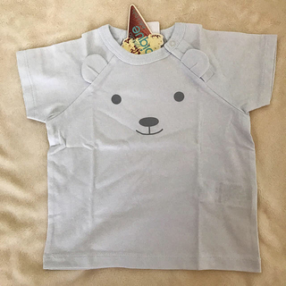 ジェラートピケ(gelato pique)の【新品・未使用】ジェラートピケ Tシャツ 70-80(Tシャツ)