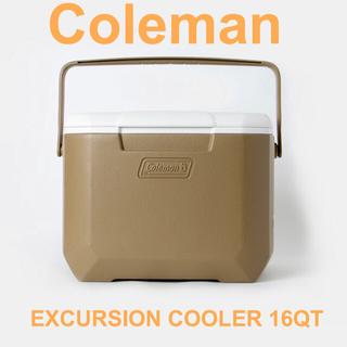 コールマン(Coleman)のコールマン エクスカーションクーラー 16QT 2019 限定色 コヨーテカラー(その他)