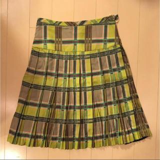 マークバイマークジェイコブス(MARC BY MARC JACOBS)のマークバイマークジェイコブス  チェック柄スカート(ひざ丈スカート)