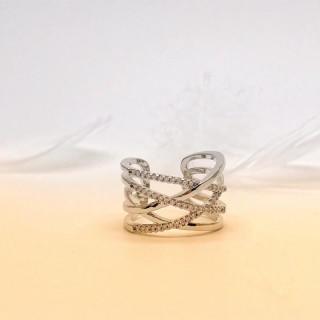 ☆即日発送☆編みデザインリング☆指輪 フリーサイズ☆プレゼント☆高品質D(リング(指輪))