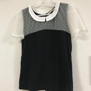 MAJESTIC LEGON - MAJESTIC LEGON 袖レースTシャツ