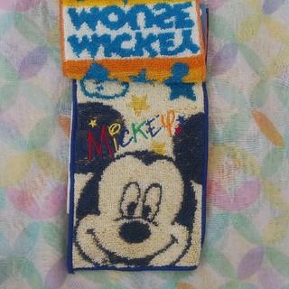 ディズニー(Disney)のミッキー ミニハンドタオル(キャラクターグッズ)