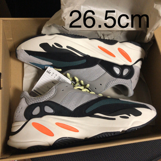 adidas - 新品 26.5cm yeezy boost 700 wave runner 初期