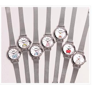 ボウダンショウネンダン(防弾少年団(BTS))のBT21 腕時計 ご自身でサイズ調整可能です。(腕時計)