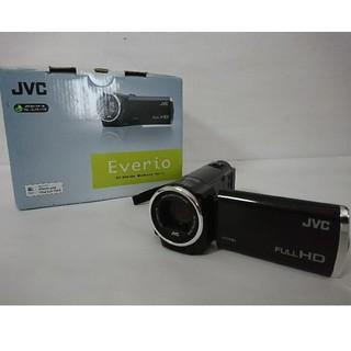 Victor - 中古美品 JVC Everio フルHDビデオカメラ GZ-E77 ブラック