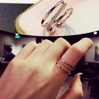 ☞金属アレ対応9号~19号♥ジルコニア※フリーサイズリング★指輪ピンクゴ-ルド(リング(指輪))
