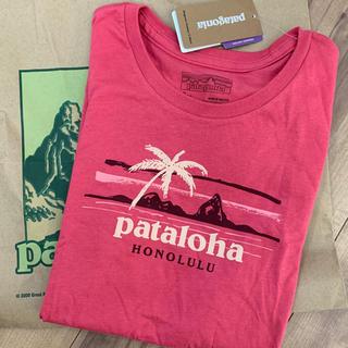 パタゴニア ガールズ S Tシャツ ピンク 半袖