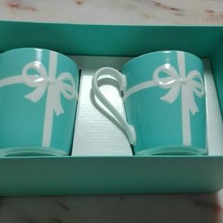 Tiffany & Co. - 売り切れました!! 新品,未使用!Tiffanyカップ!!