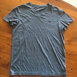 American Eagle - 美品‼︎ アメリカンイーグル グレー シンプルTシャツ サイズM