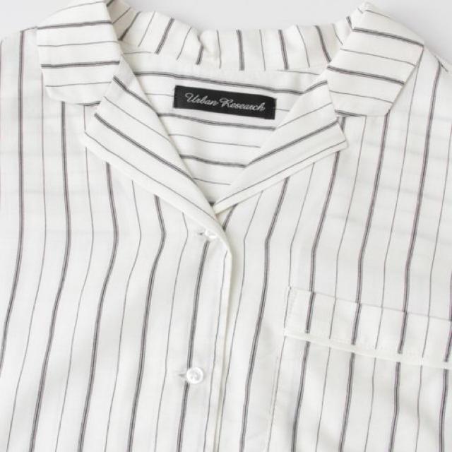 URBAN RESEARCH(アーバンリサーチ)のパジャマ風ショート丈シャツ URBAN RESERCH レディースのトップス(シャツ/ブラウス(長袖/七分))の商品写真