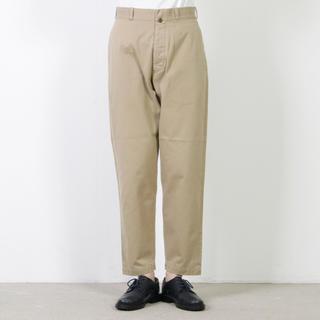YAECA - YAECA CHINO CLOTH PANTS TAPERED