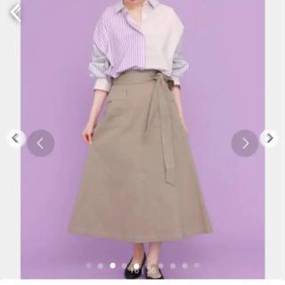 ケービーエフ(KBF)のKBF コーデ売り ロングスカート ストライプシャツ(ロングスカート)