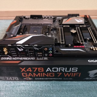 x470 AORUS GAMING7 wifi (rev1.0) zen2 ok