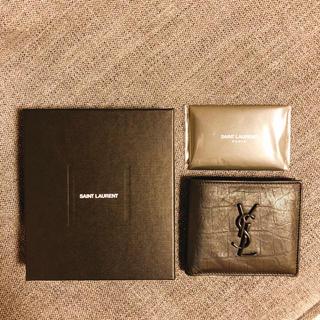 サンローラン(Saint Laurent)のサンローラン(折り財布)