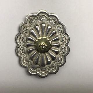 goro's - ゴローズ  美品  楕円形金メタル付フラワーコンチョ 縦