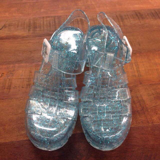 WEGO(ウィゴー)の新品未使用 クリアサンダル 38サイズ レディースの靴/シューズ(サンダル)の商品写真