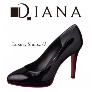 DIANA - ♡美品♡定価15,660yen♡DIANA♡エナメルパンプス♡ブラック♡
