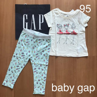 babyGAP - 今季新作★baby gapTシャツ&レギンス95