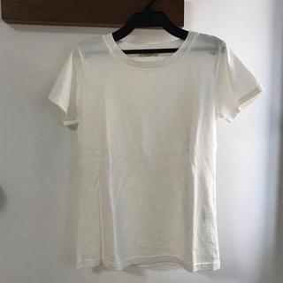 ロンハーマン(Ron Herman)の【新品】ロンハーマン 白Tシャツ(Tシャツ(半袖/袖なし))