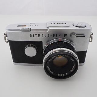 OLYMPUS - 【並品】オリンパスPEN F+AUTO-S 38mm F1.8[動作確認済み]