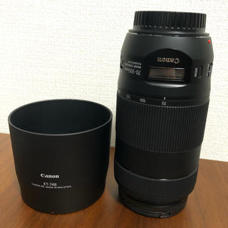 Canon - Canon EF 70-300mmf/4-5.6 IS USM保護フィルター付き