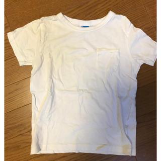 Champion - チャンピオン 白 ポケT Tシャツ 120
