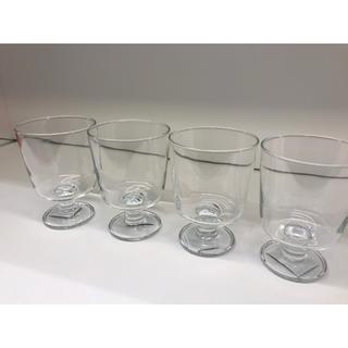 IKEA - 【4個セット】IKEA 365+ ゴブレット, クリアガラス