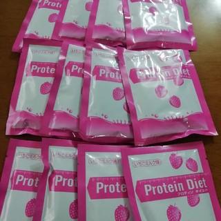 DHC - DHC プロテインダイエット いちごミルク味12袋 ドリンクタイプ 送料込み