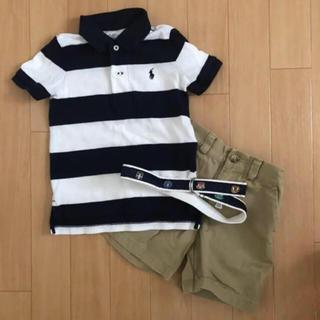 Ralph Lauren - Ralph Lauren ポロシャツ&ハーフパンツ 90