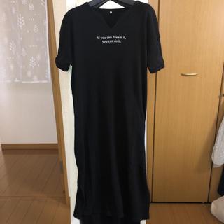しまむら - Tシャツスリットロングワンピース