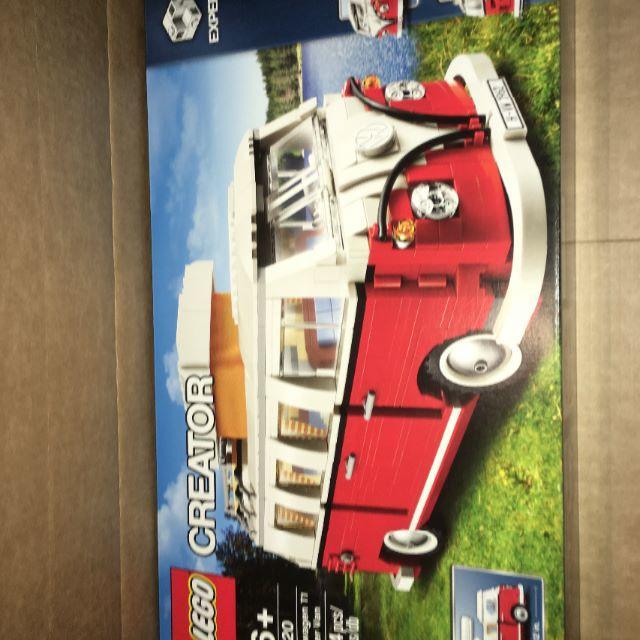 Lego(レゴ)のレゴ 10220 VW Camper Van 新品未開封品 エンタメ/ホビーのおもちゃ/ぬいぐるみ(模型/プラモデル)の商品写真