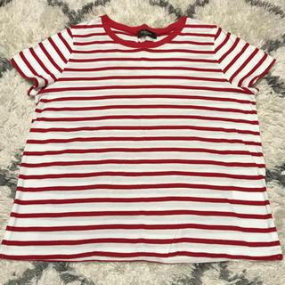 ビームス(BEAMS)の【美品】BEAMS ビームス ボーダーTシャツ(Tシャツ(半袖/袖なし))