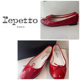 レペット(repetto)のrepetto レッドバレエ パンプス(ハイヒール/パンプス)