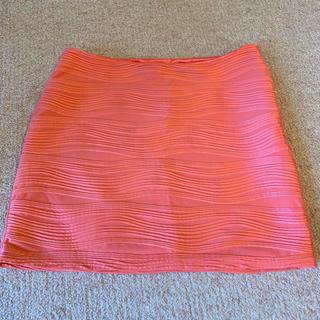 リップサービス(LIP SERVICE)のリップサービス オレンジピンク タイトミニスカート(ミニスカート)