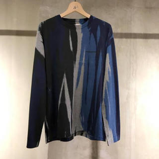 SUNSEA - SUNSEA 18AW EXPLORATION LONG TEE シャツ