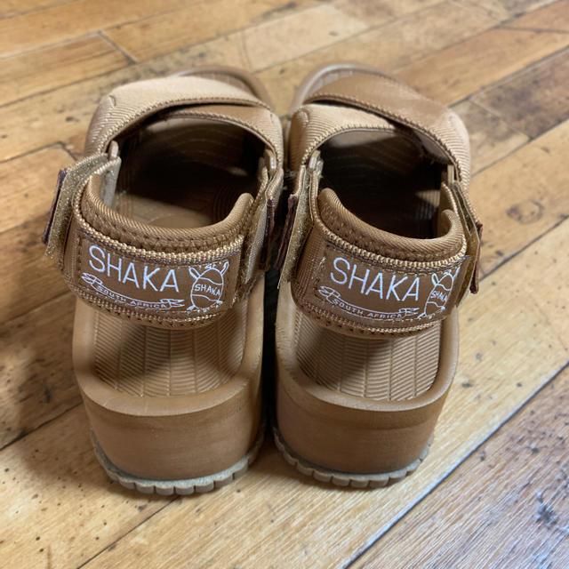 FREAK'S STORE(フリークスストア)のSHAKA  厚底サンダル  フリークスストアー ブラウン レディースの靴/シューズ(サンダル)の商品写真