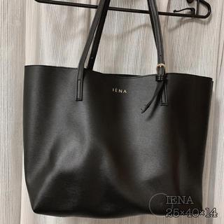 イエナ(IENA)のIENA トートバッグ 〔Black〕(トートバッグ)