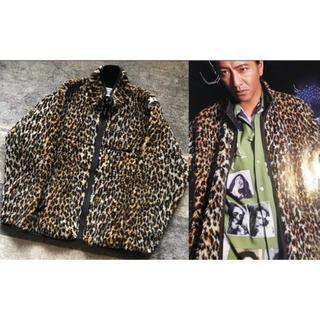 WACKO MARIA - 即完売 18AW キムタク着 別格 ワコマリア レオパード柄 フリースジャケット